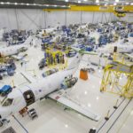 HondaJet assembly line